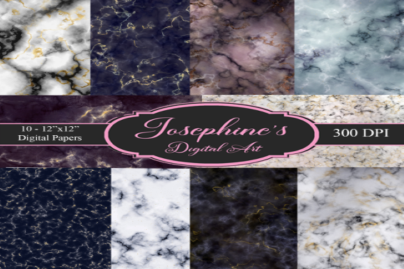 Download Free Rich Marble Set Of 10 Digital Design Graphic By Josephine S for Cricut Explore, Silhouette and other cutting machines.