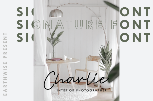 Print on Demand: Earthwise Script & Handwritten Font By Ahgo Studio - Image 3