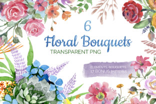 Bouquet of Flowers Bright Dreams Graphic By MyStocks