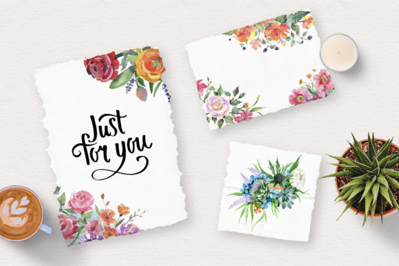 Print on Demand: Bouquet of Flowers Bright Dreams Graphic Illustrations By MyStocks - Image 4