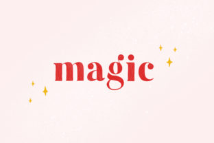 Magic Color Fonts Font By kiyamova.elvina