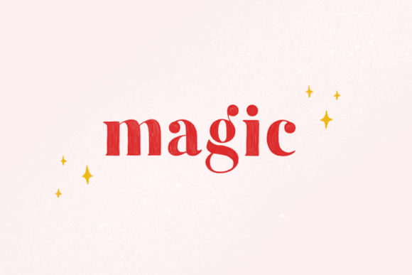 Print on Demand: Magic Color Fonts Font By kiyamova.elvina