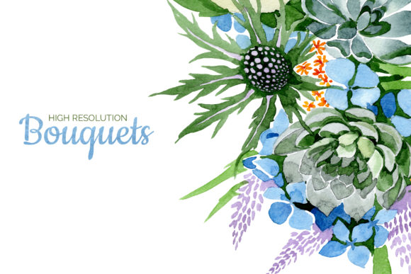 Print on Demand: Bouquet of Flowers Bright Dreams Graphic Illustrations By MyStocks - Image 8