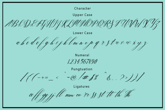 Print on Demand: Love Bird Script & Handwritten Font By Bal Studio - Image 6