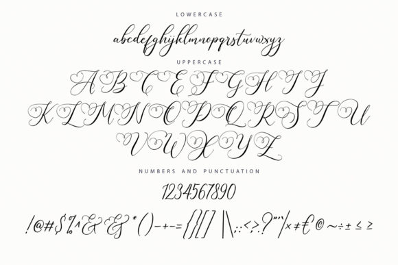 Print on Demand: Sugarberry Script & Handwritten Font By Vunira - Image 7