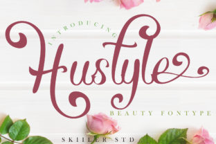 Print on Demand: Hustyle Script & Handwritten Font By Skiiller Studio
