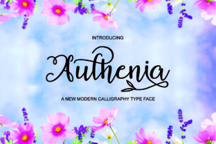 Authenia Script & Handwritten Font By Bal Studio