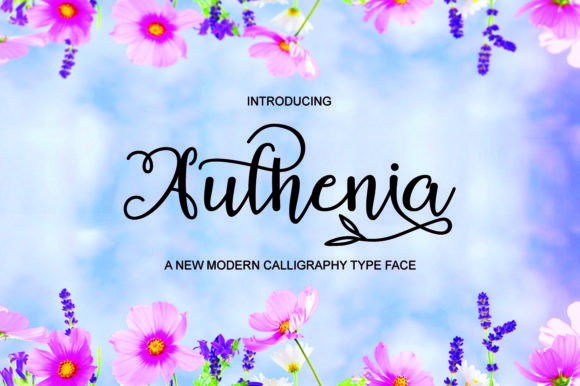 Print on Demand: Authenia Script & Handwritten Font By Bal Studio