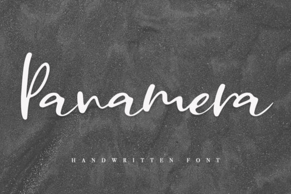 Print on Demand: Panamera Script & Handwritten Font By Katie Holland