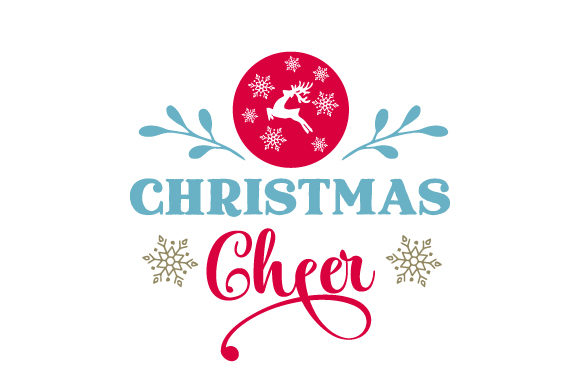 Christmas Cheer Christmas Craft Cut File By Creative Fabrica Crafts - Image 1