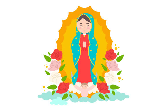Download Free Virgen De Guadalupe Svg Cut File By Creative Fabrica Crafts for Cricut Explore, Silhouette and other cutting machines.