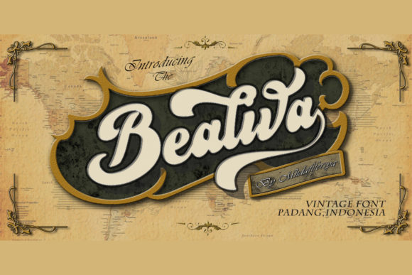 Print on Demand: Bealiva Script & Handwritten Font By Muhammad Ersya