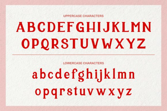 Print on Demand: Holiday Serif Font By LetterSpirit Studio - Image 4