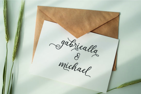 Print on Demand: Gabriella Script & Handwritten Font By MJB Letters - Image 7