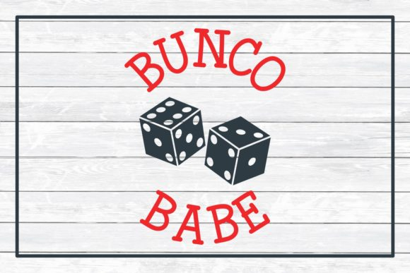 Bunco Babe Graphic Crafts By funkyfrogcreativedesigns - Image 3