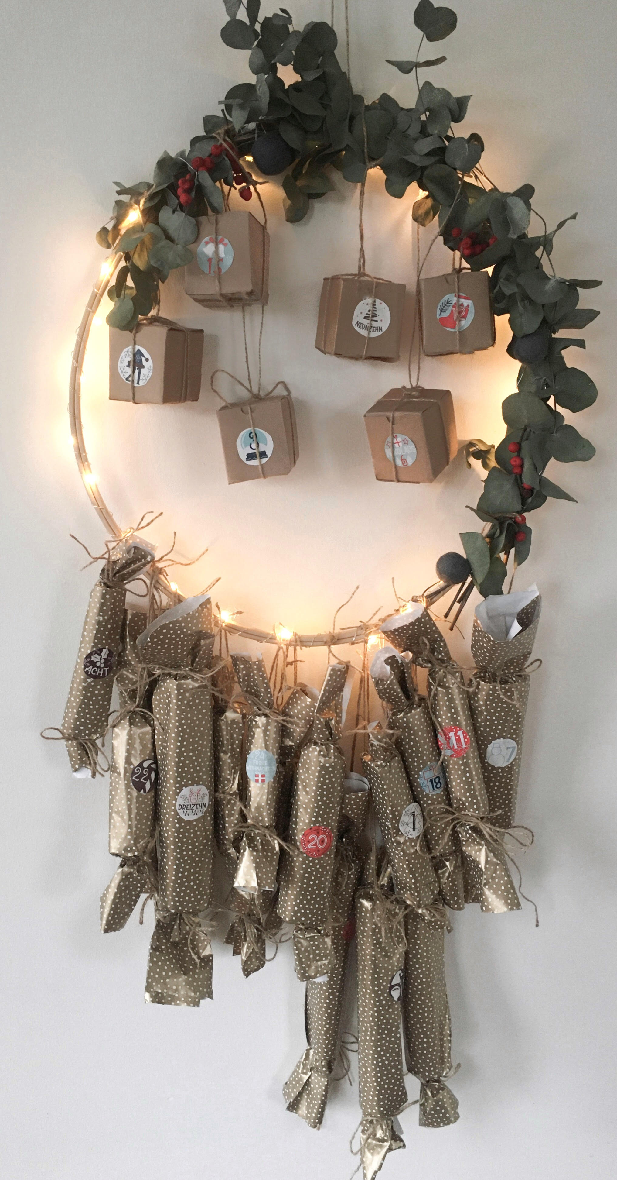 Download Free Make Your Own Advent Calendar Creative Fabrica for Cricut Explore, Silhouette and other cutting machines.