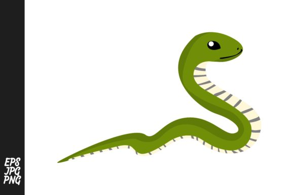 Print on Demand: Snake Vector Graphic Crafts By Arief Sapta Adjie