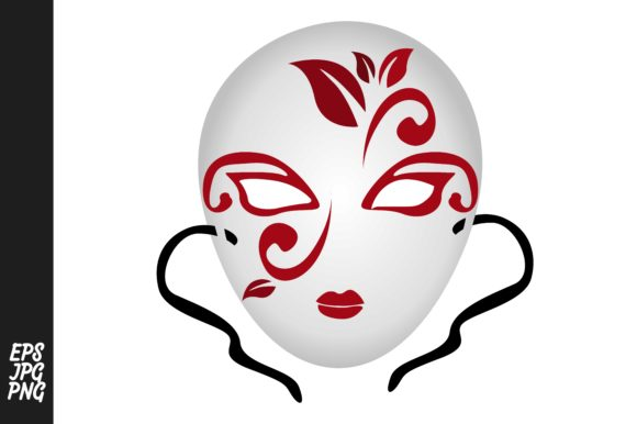 Download Free Mask Vector Graphic By Arief Sapta Adjie Creative Fabrica for Cricut Explore, Silhouette and other cutting machines.