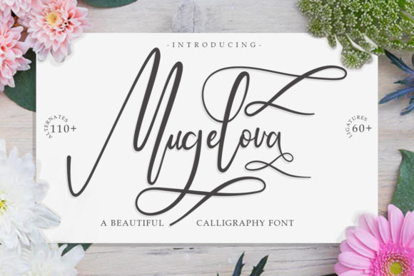Print on Demand: Mugelova Script & Handwritten Font By Madatype Studio