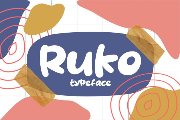 Print on Demand: Ruko Script & Handwritten Font By Keithzo (7NTypes)