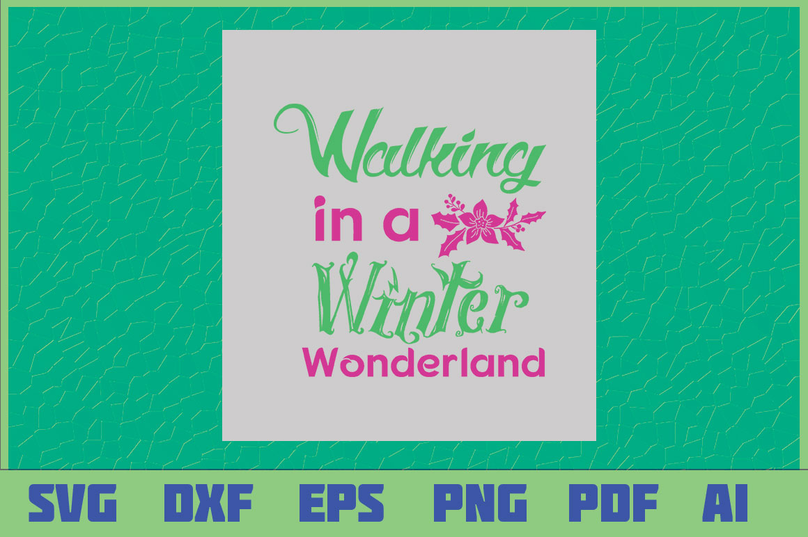 Download Free Walking In A Winter Wonderland Grafico Por Sajidmajid441 for Cricut Explore, Silhouette and other cutting machines.