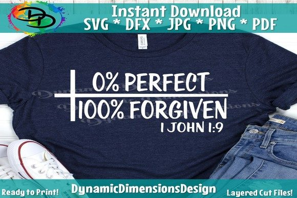 Print on Demand: Forgiven Graphic Crafts By dynamicdimensions