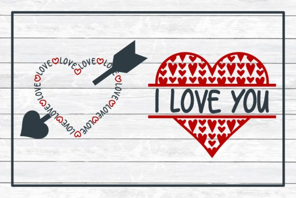 Love Design Bundle Graphic Crafts By funkyfrogcreativedesigns - Image 4