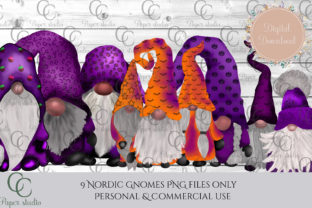 Halloween Tomte Gnomes Graphic By CC Paper Studio