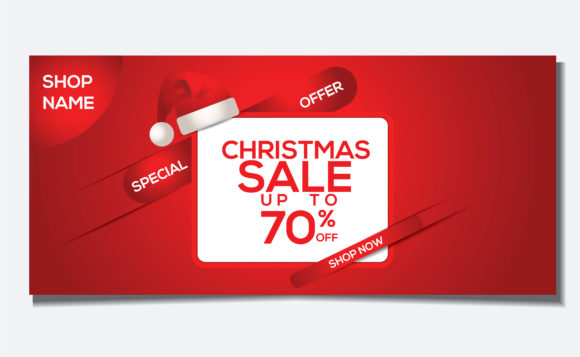 Christmas Special Banner Offer Template Graphic Websites By nainggig