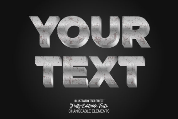 Print on Demand: 3D Detailed Text Effect Graphic Layer Styles By anomali.bisu