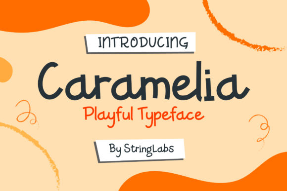 Print on Demand: Caramelia Decorative Font By StringLabs