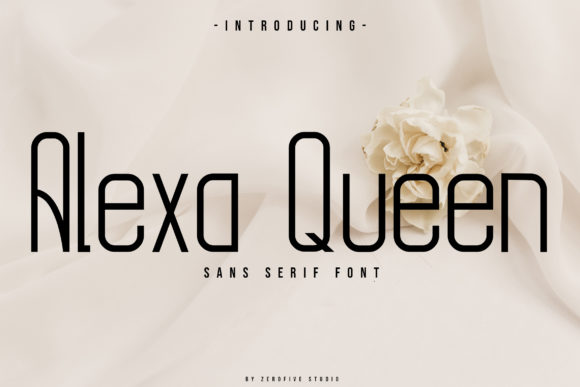 Print on Demand: Alexa Queen Sans Serif Font By zerofivestudio