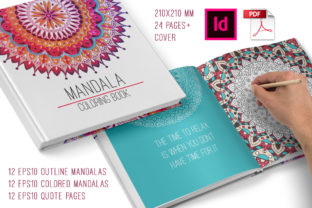 Mandala Coloring Book for Adults Graphic Coloring Pages & Books Adults By Peliken