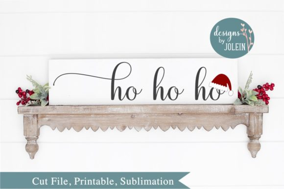 Print on Demand: Ho Ho Ho Graphic Crafts By Designs by Jolein