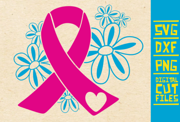 Download Free Pink Ribbon Svg Breast Cancer Survive Graphic By for Cricut Explore, Silhouette and other cutting machines.