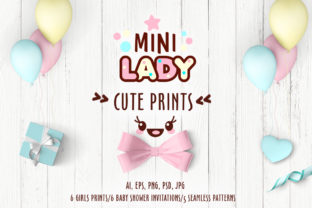 Cute Vector Prints for Baby Apparel Graphic Illustrations By Peliken