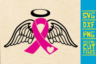 Angel Wings Breast Cancer Graphic By Svgyeahyouknowme