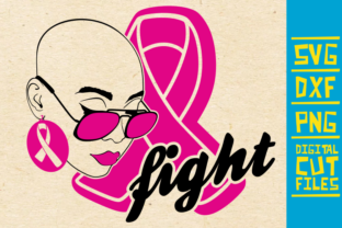 Download Free Fight Breast Cancer Pink Ribbon Graphic By Svgyeahyouknowme for Cricut Explore, Silhouette and other cutting machines.