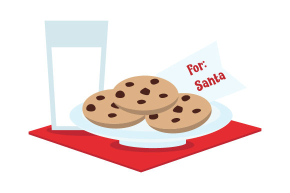 Milk & Cookies for Santa Christmas Craft Cut File By Creative Fabrica Crafts