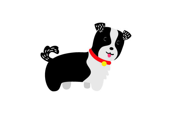 Border Collie Puppy Dogs Craft Cut File By Creative Fabrica Crafts
