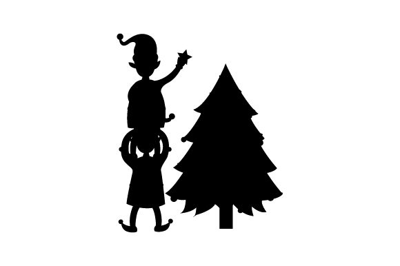 Download Free Elf Teamwork Svg Cut File By Creative Fabrica Crafts Creative for Cricut Explore, Silhouette and other cutting machines.