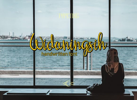 Print on Demand: Widaningsih Script & Handwritten Font By Typeting Studio - Image 1