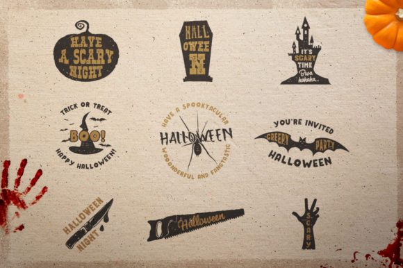 Download Free Halloween Holiday Decor Graphic By Jeksongraphics Creative for Cricut Explore, Silhouette and other cutting machines.