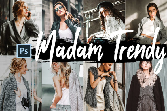 05 Madam Trendy Photoshop Actions Graphic By 3Motional