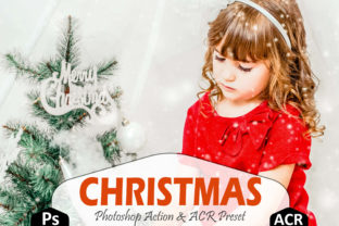 Download Free Christmas Photoshop Actions Acr Preset Graphic By Mattte Studio for Cricut Explore, Silhouette and other cutting machines.