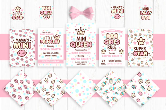 Cute Vector Prints for Baby Apparel Graphic Illustrations By Peliken - Image 3