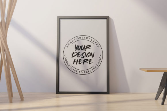 Photo Frame Mock-up Template Graphic Product Mockups By suedanstock