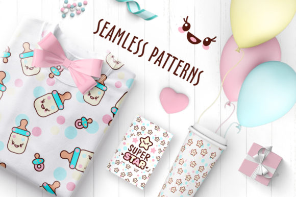 Cute Vector Prints for Baby Apparel Graphic Illustrations By Peliken - Image 4