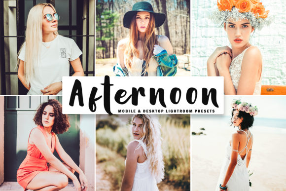 Print on Demand: Afternoon Lightroom Presets Pack Graphic Actions & Presets By Creative Tacos