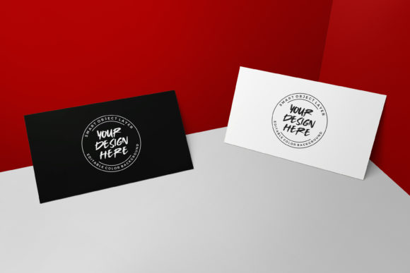 Download Free Minimalist Business Card Mockup Template Graphic By Suedanstock Creative Fabrica for Cricut Explore, Silhouette and other cutting machines.